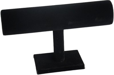 1 rol zwart velours