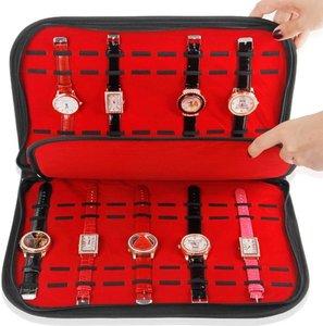 Displaymap horloges armbanden